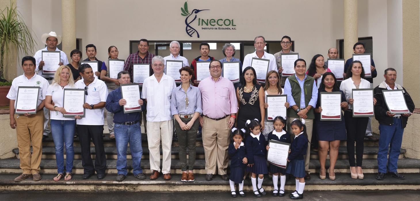 Entregan Javier Duarte y Karime Macías premios al Mérito Ambiental y Forestal 2015