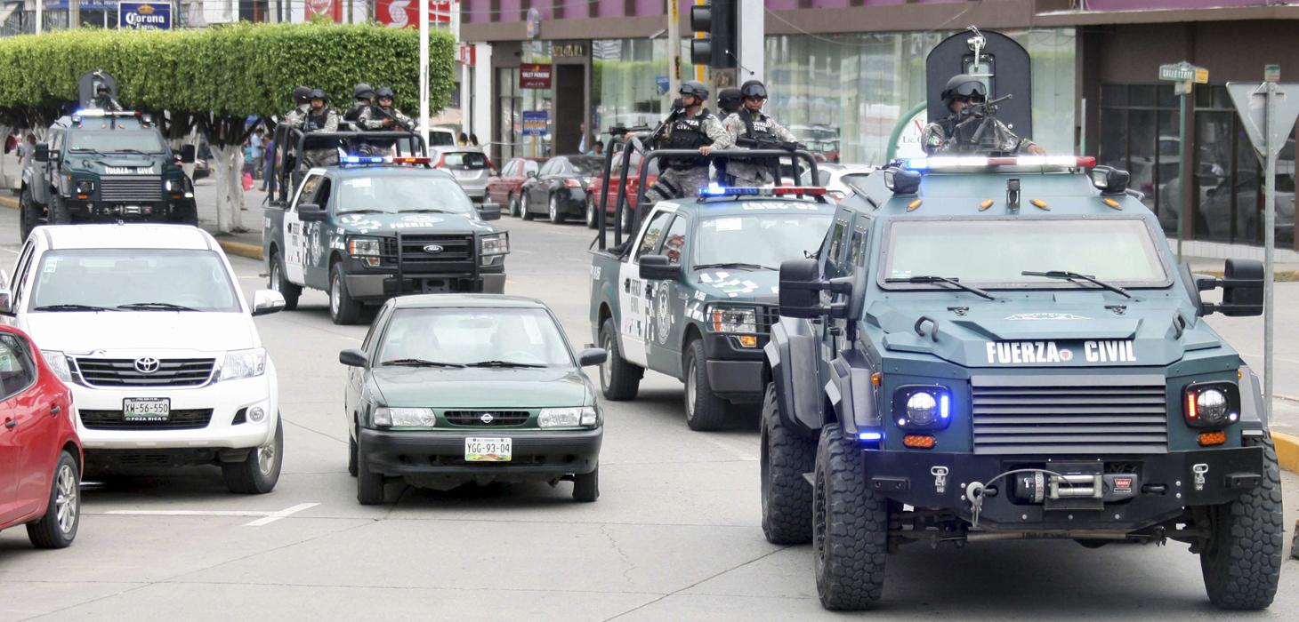 Fuerte despliegue de elementos operativos de Seguridad Pública en todo el estado