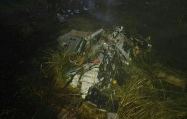 Confirma la Secretaría de Protección Civil  accidente de helicóptero de Gobierno del Estado