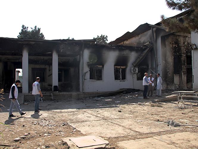 Insiste Afganistán en que había talibanes en hospital atacado