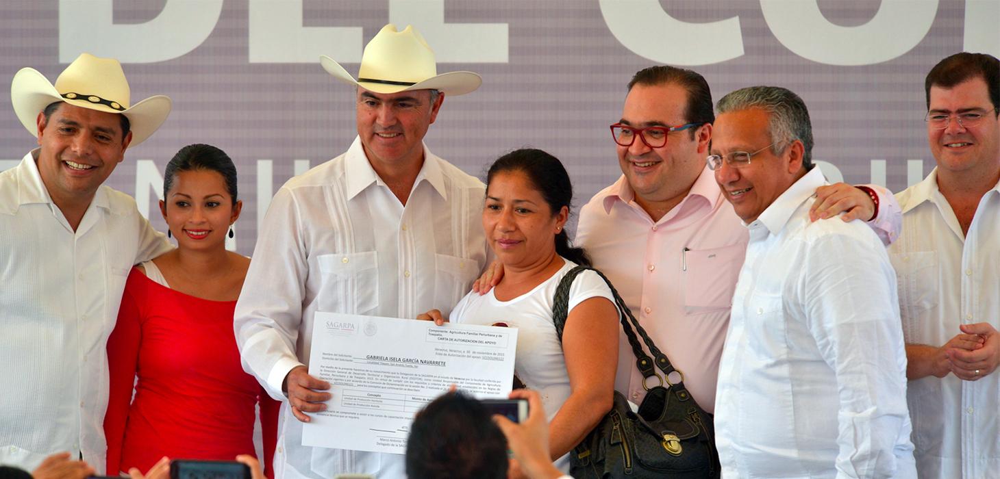 En Veracruz, el campo es uno de los principales motores de la economía nacional