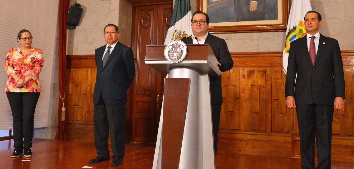 Estamos preparados para garantizar la seguridad y las libertades a los veracruzanos: Javier Duarte