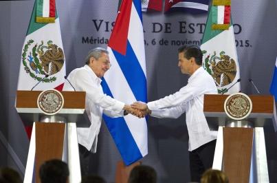 Refrendan Cuba y México amistad y colaboración