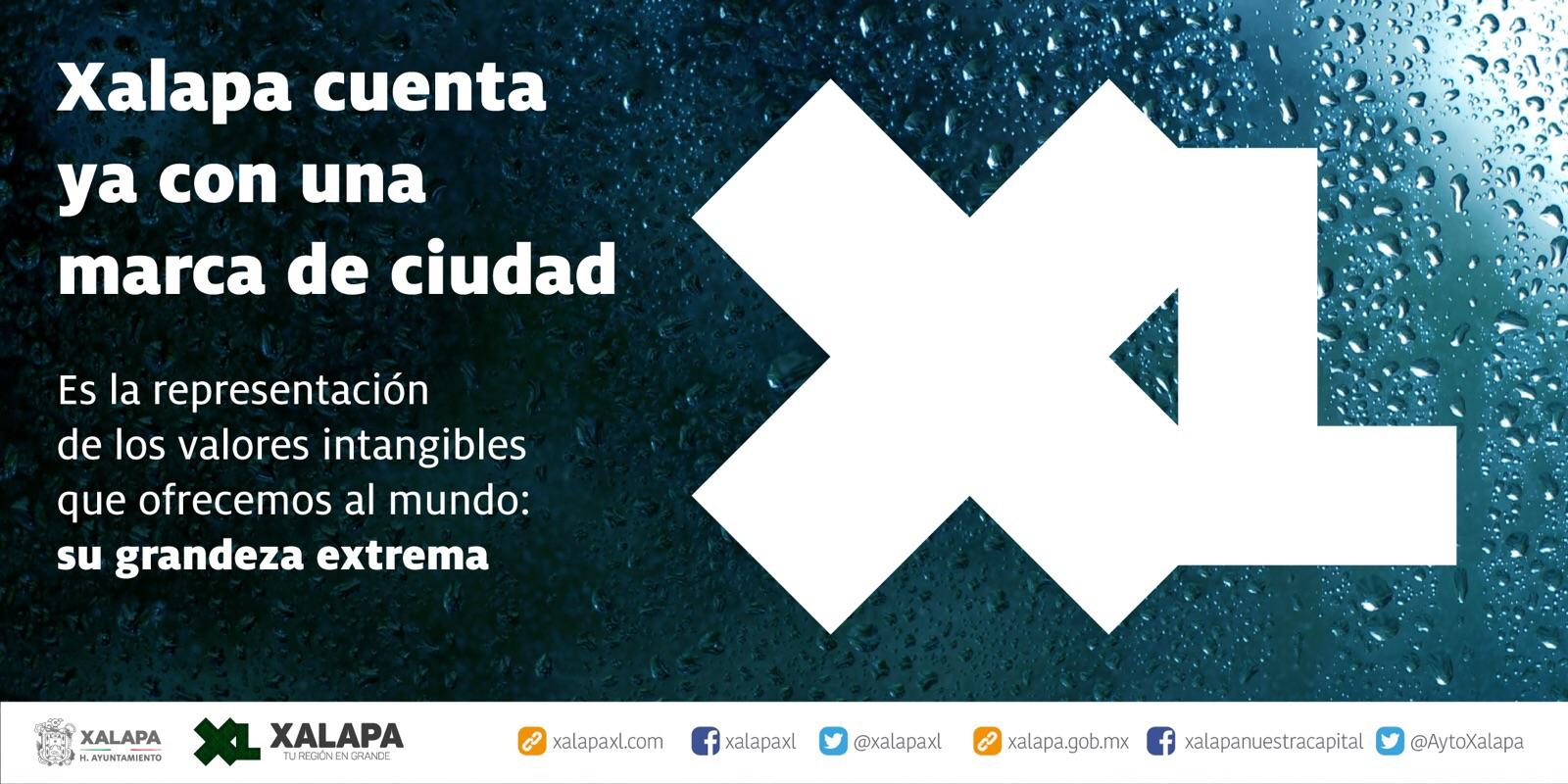 """El Ayuntamiento de Xalapa presentó la marca """"XL"""""""