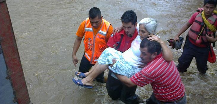 Atiende PC afectaciones en 5 municipios por fuertes lluvias