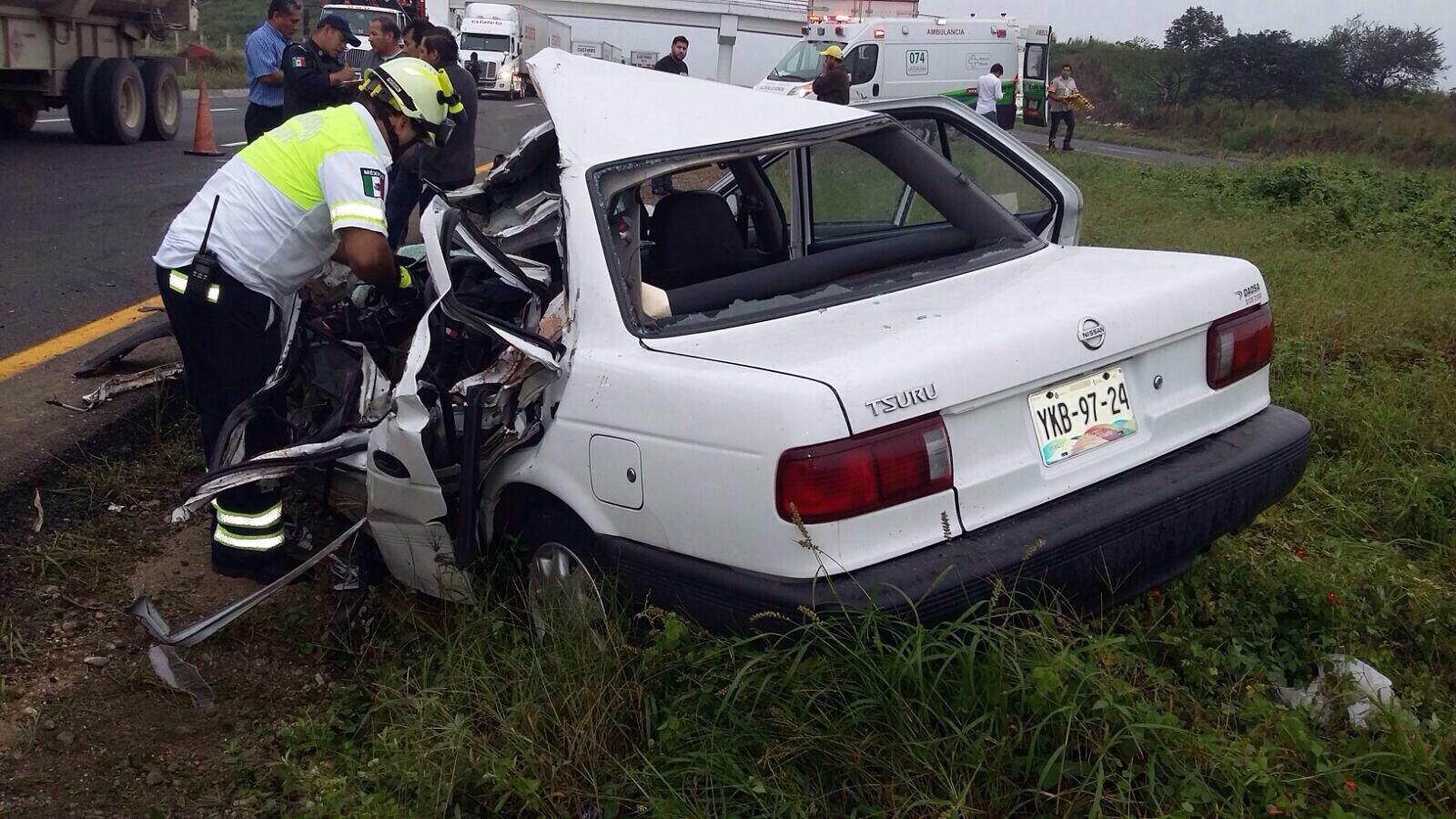 Colaborador del senador Héctor Yunes Landa fallece en un accidente