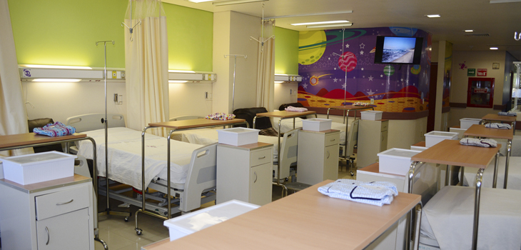 Reacondiciona Patronato Pro Salud Área Pediátrica del CECAN