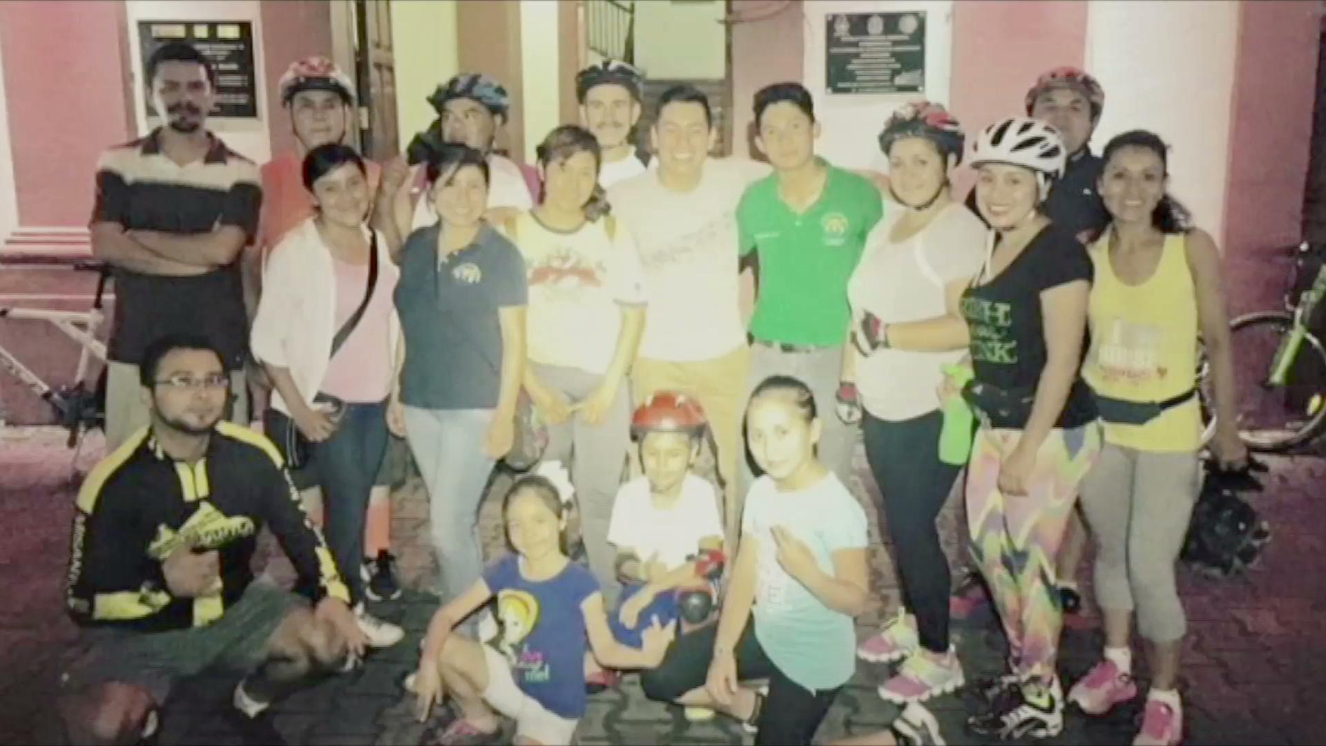 Jóvenes promueven los paseos en bicicleta por Misantla