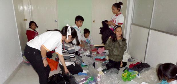La Cruz Roja de Veracruz invita a donar cobijas y ropa