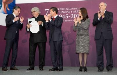 Enrique Peña Nieto firmó el decreto que crea la Secretaría de Cultura