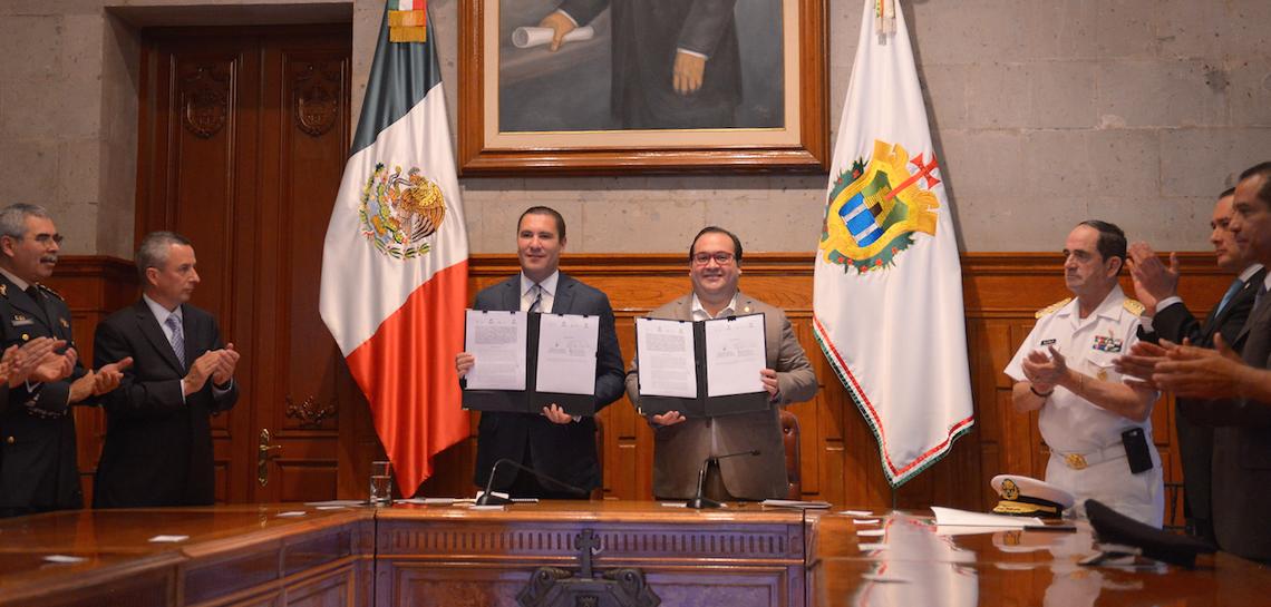 Fortalecen Veracruz y Puebla vínculos en materia de seguridad pública, procuración de justicia y tránsito vehicular