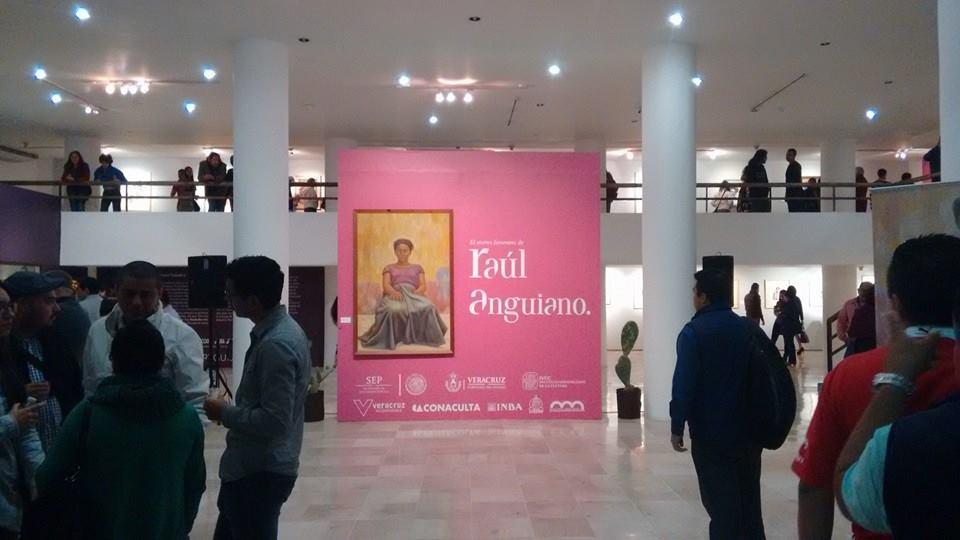 La pinacoteca Diego Rivera exhibe obras de Raúl Anguiano