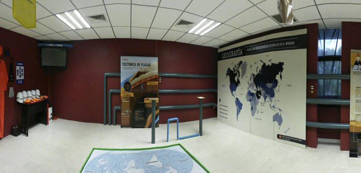 Inaugura Gobierno del Estado Sala Temática del Petróleo y su Museografía