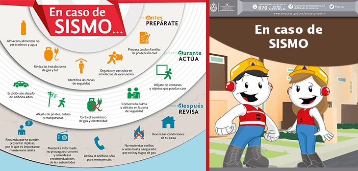 Sin afectaciones en Veracruz por sismo de este miércoles