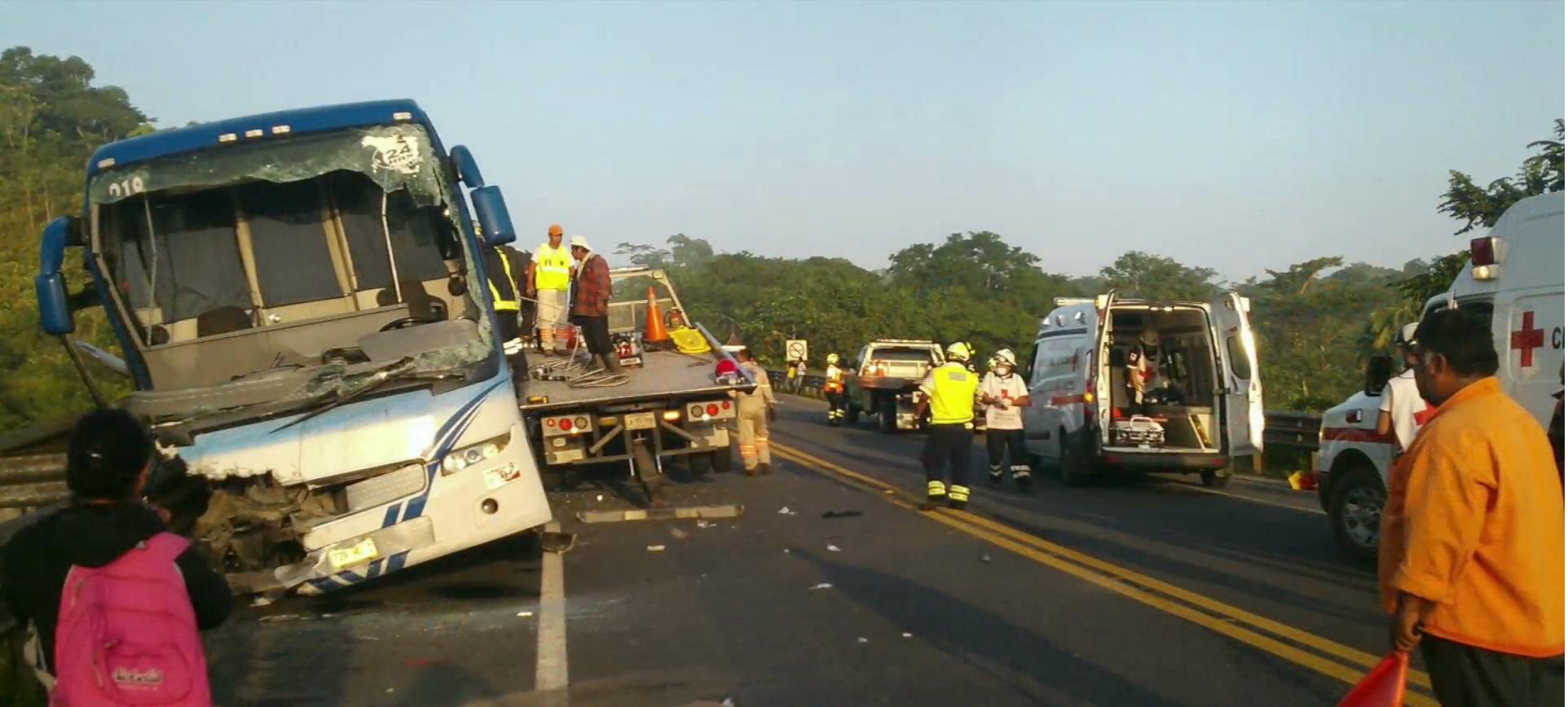 Accidente en la autopista Las Choapas-Raudales dejó once víctimas