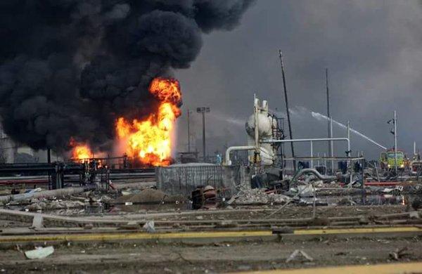 Sin reporte de fallecidos por explosión en Complejo Petroquímico