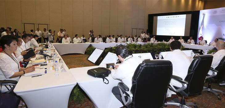 Participa Veracruz en Segunda Reunión del Grupo de Coordinación Regional Zona Sur-Sureste