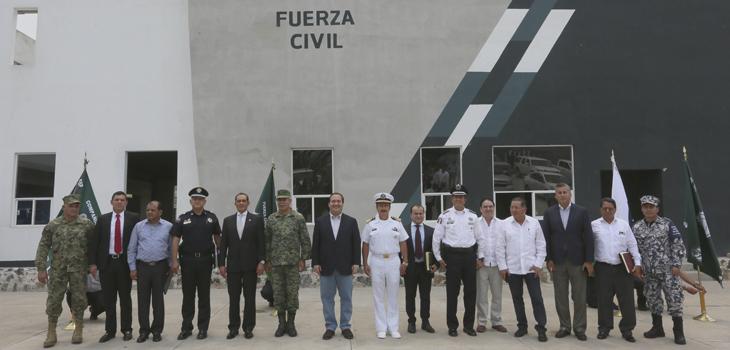 Se reúne Grupo de Coordinación Veracruz, en la Academia de Policía