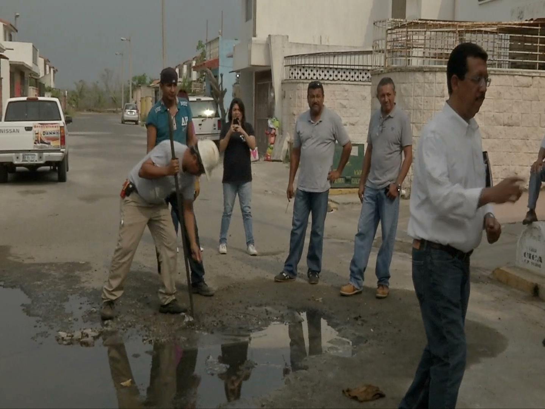 Atiende SAS desabasto de agua en Geo Los Pinos II
