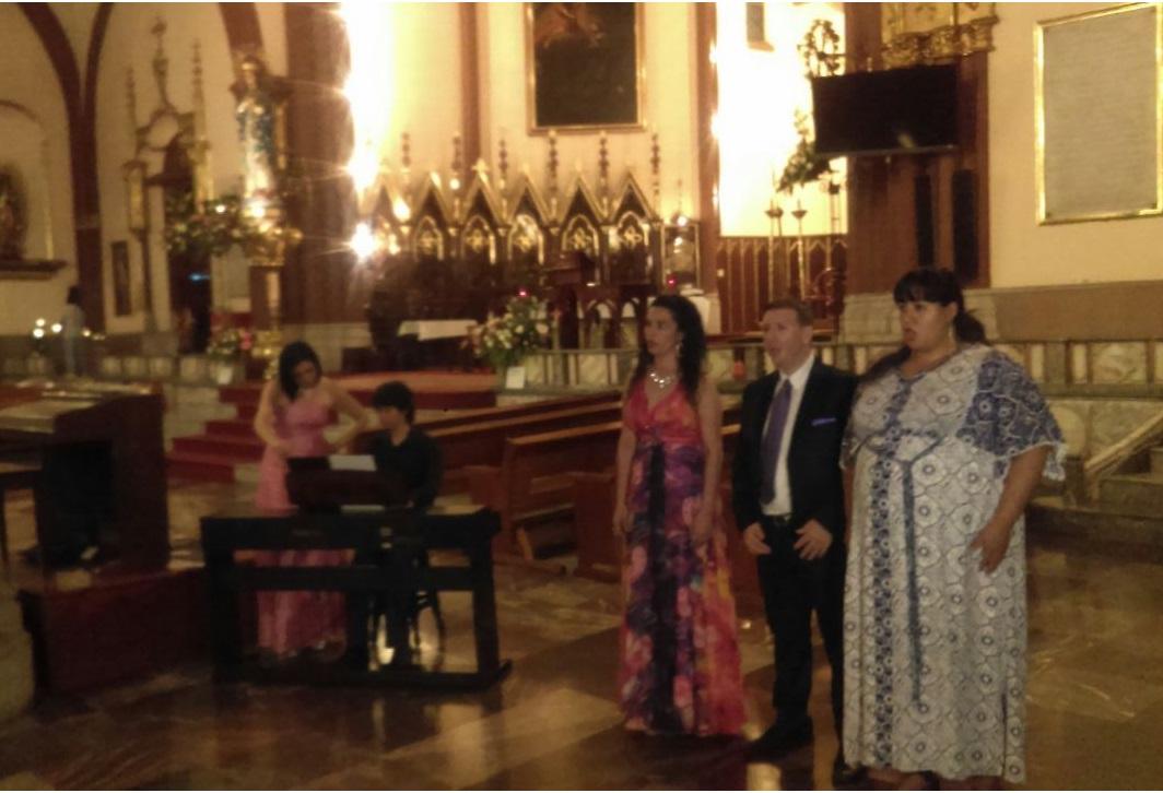 Modus Operandi engalanó a la Catedral Metropolitana de Xalapa