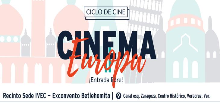Proyectan ciclo Cinema Europa II en sede IVEC