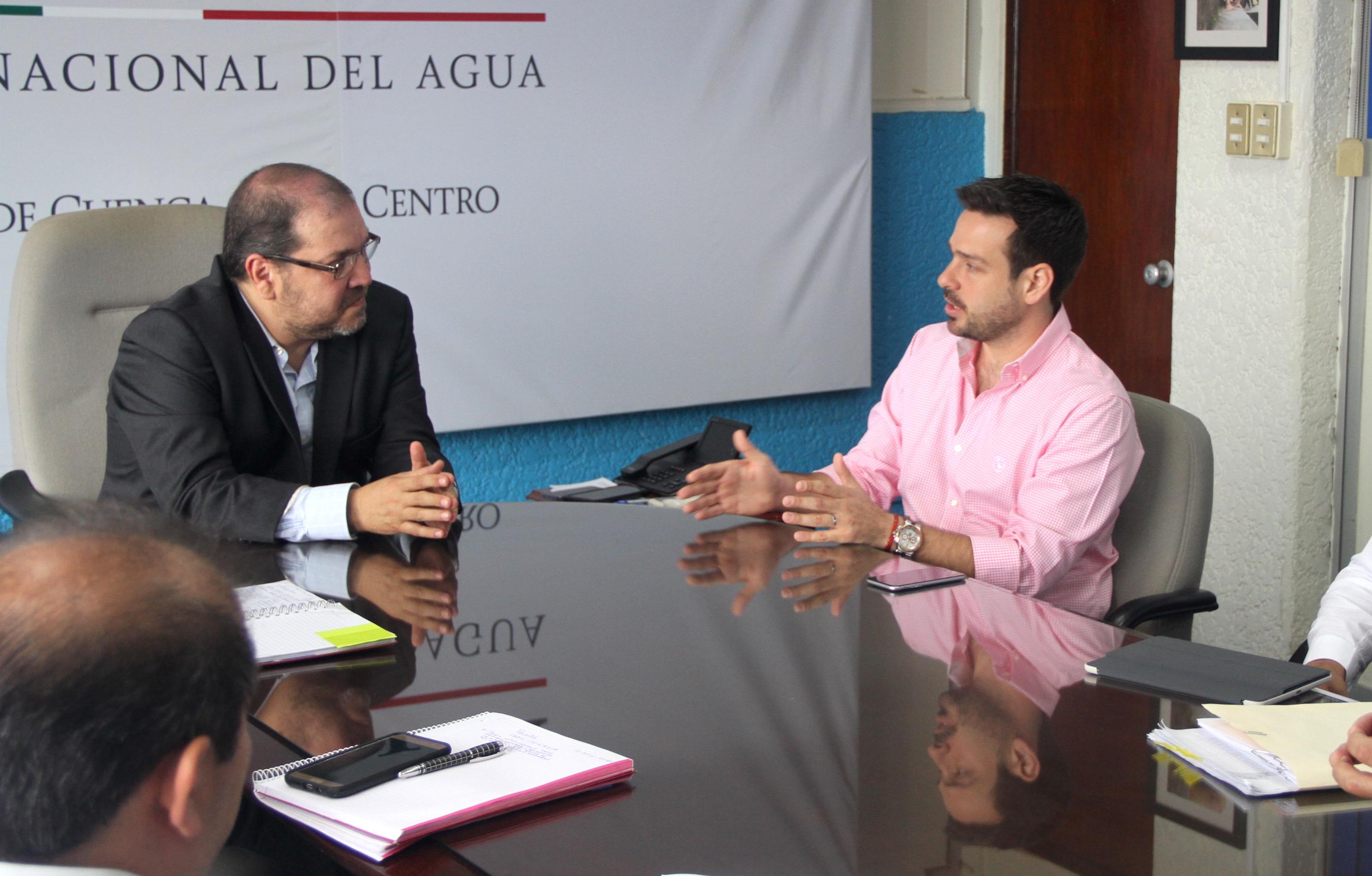 Revisan CAEV y CONAGUA avances de proyectos correspondientes al presupuesto 2016