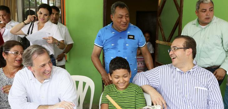 Reconoce Javier Duarte el apoyo del Gobierno de la República