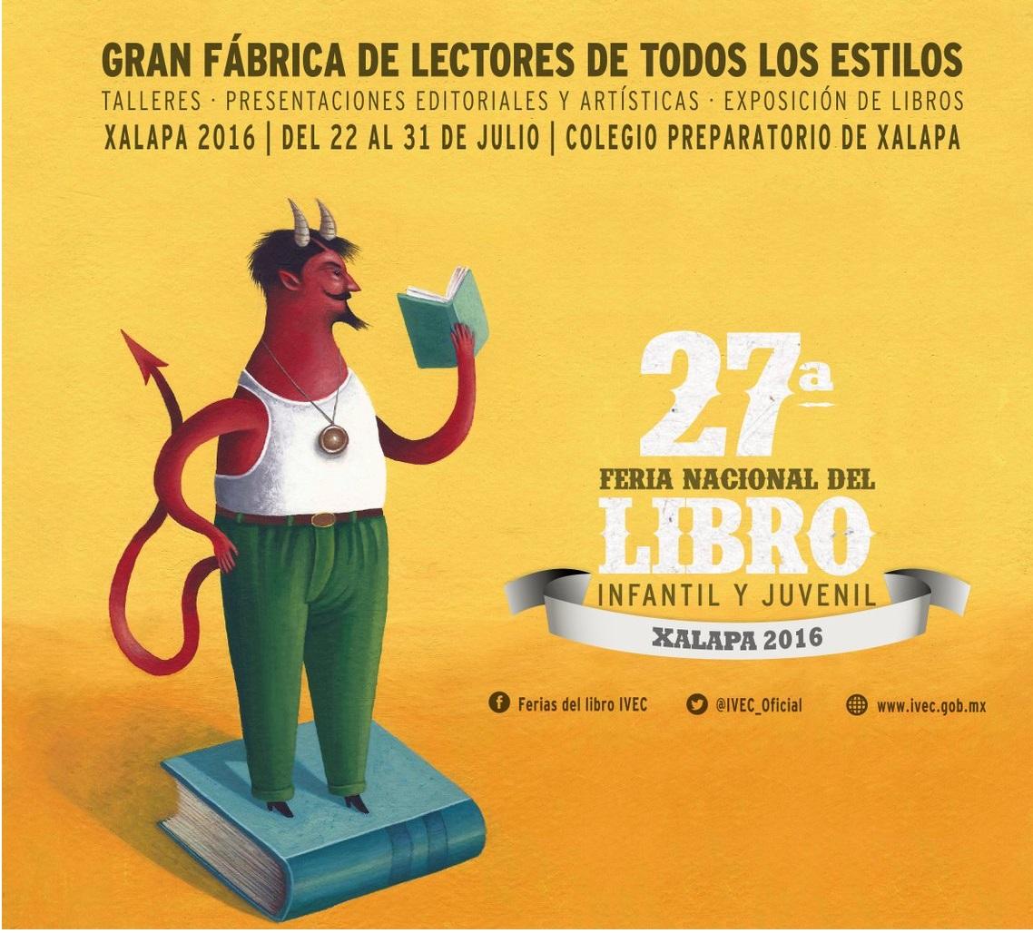 Convocan a voluntarios para participar en la Feria del Libro Infantil y Juvenil de Xalapa