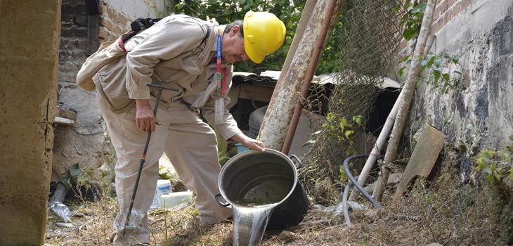 Por temporada de lluvias, fortalece Secretaría de Salud brigadas integrales de control larvario