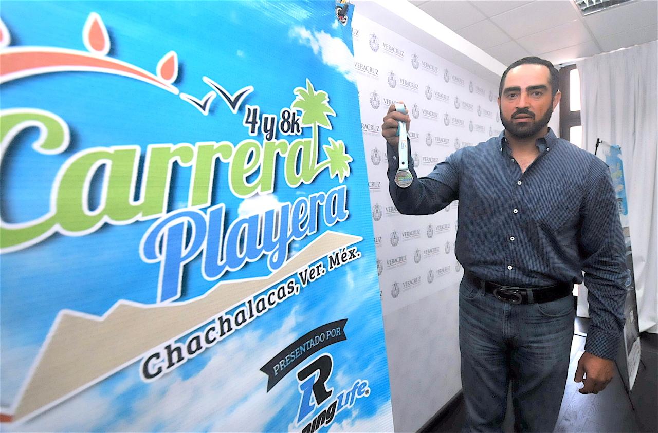 Invita SECTUR a la Carrera Playera en Chachalacas, este domingo