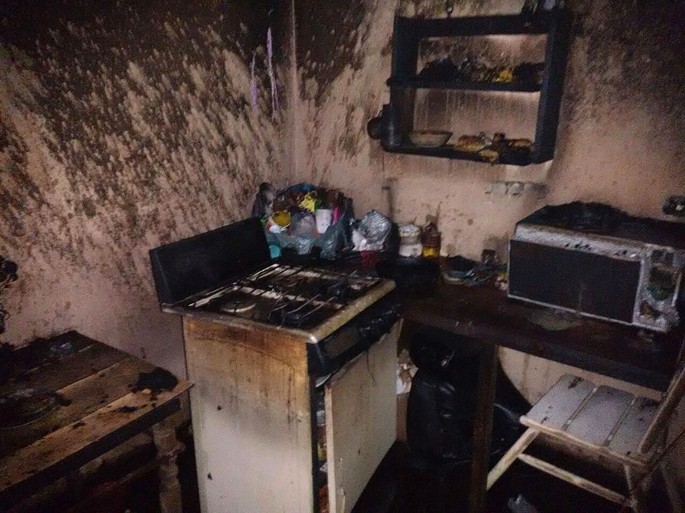 Se registra incendio en colonia José Vasconcelos de Xalapa