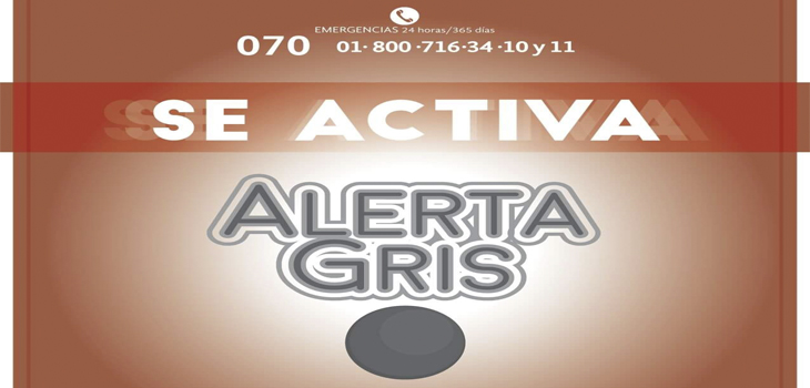 Activa PC Alerta Gris por Disturbio Tropical 97L