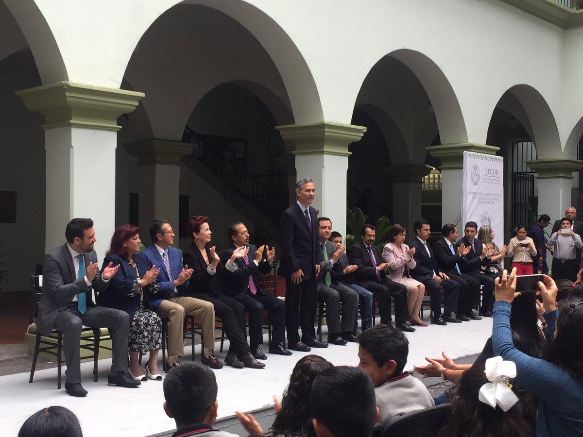 Exhorta Bucio Mujica a alcaldes de Veracruz a implementar Ley de Derechos de Niñas, Niños y Adolescente