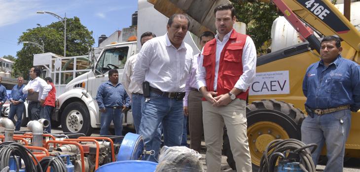 En alerta, CAEV ante paso de la Tormenta Tropical Earl en Veracruz