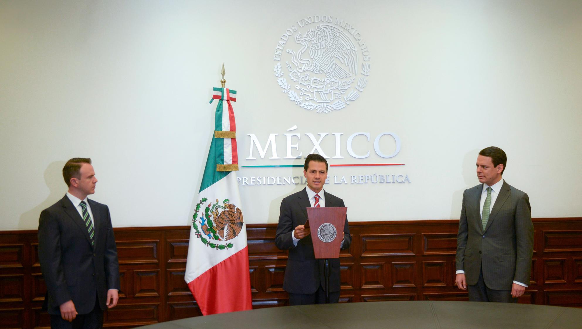 Jaime Francisco Hernández Martínez, nuevo titular de la CFE