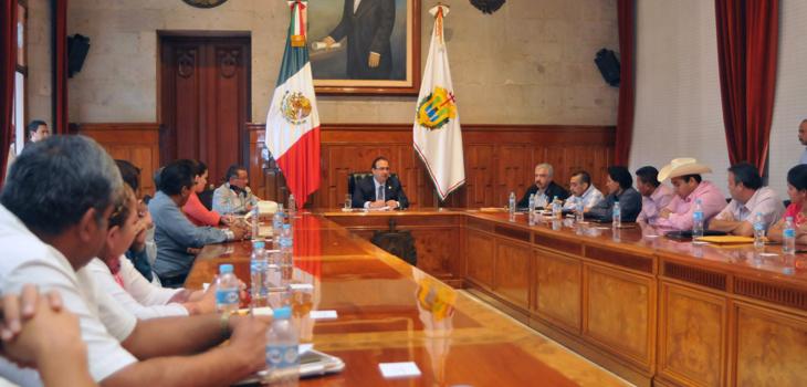 Reconoce Javier Duarte el impulso que el CAP ha dado al agro en Veracruz