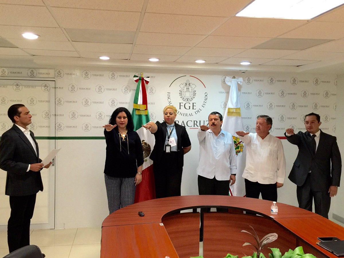 Nombra FGE a nuevos fiscales regionales en Tantoyuca, Coatzacoalcos, Cosamaloapan, Veracruz y Tuxpan