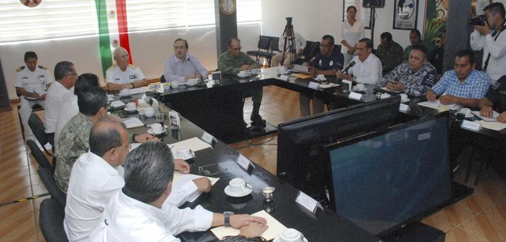 Encabeza Javier Duarte reunión del Grupo Coordinación Veracruz, en el sur del estado