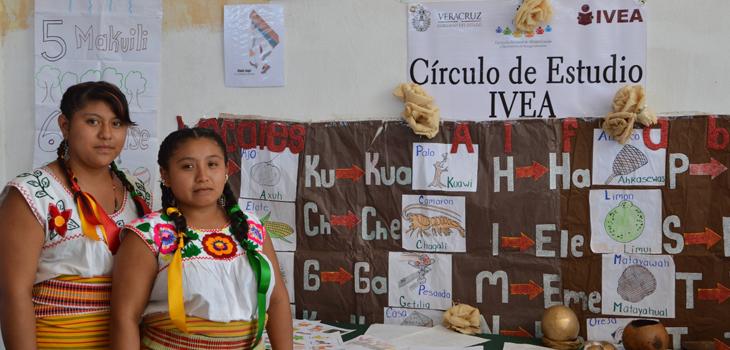 En Veracruz, la educación indígena va más allá de la alfabetización: IVEA