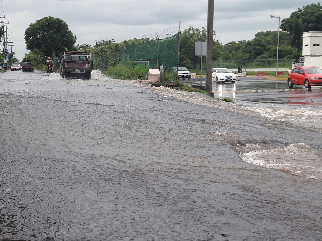 Basura en alcantarillas, principal causa de inundaciones en el puerto de Veracruz: PC