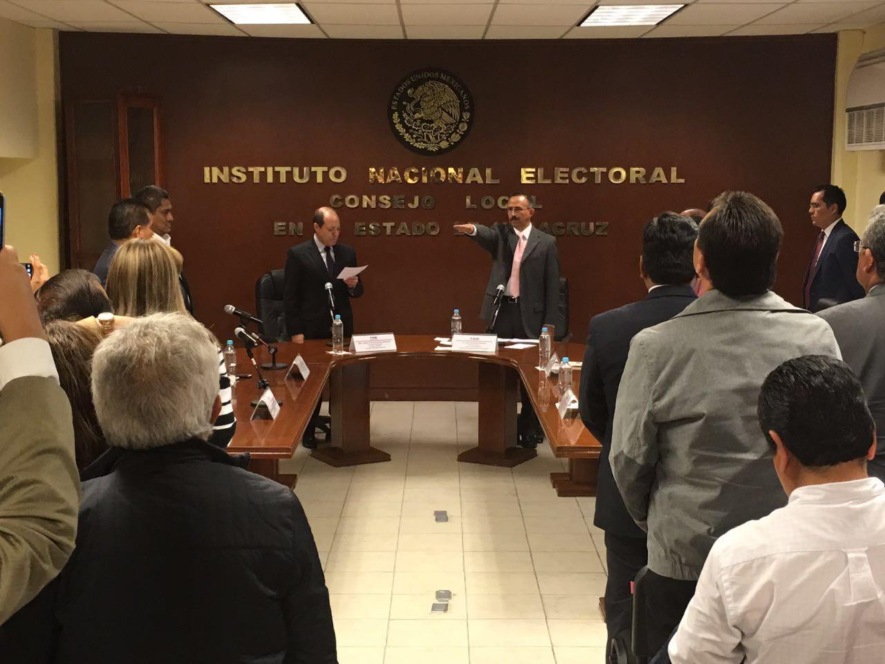 Josué Cervantes Martínez, nuevo Vocal Ejecutivo del INE Veracruz