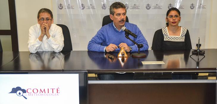 Reitera Comité de Meteorología de Veracruz el llamado para no caer en falsos rumores