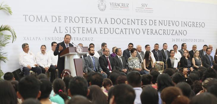 Veracruz está en calma y el sector educativo está en marcha: SEGOB