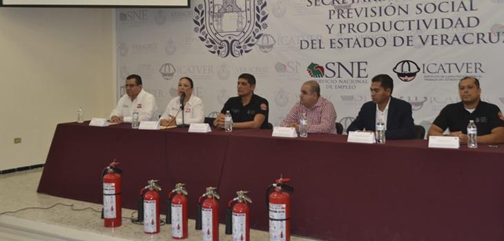 Inaugura Secretaría de Trabajo la Semana de Protección Civil