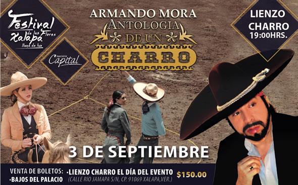 El tenor Armando Mora, en el cierre del Festival de las Flores, Xalapa llena de luz