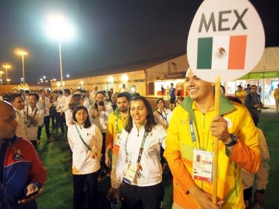 Bandera mexicana ya ondea en Villa Olímpica de Río de Janeiro