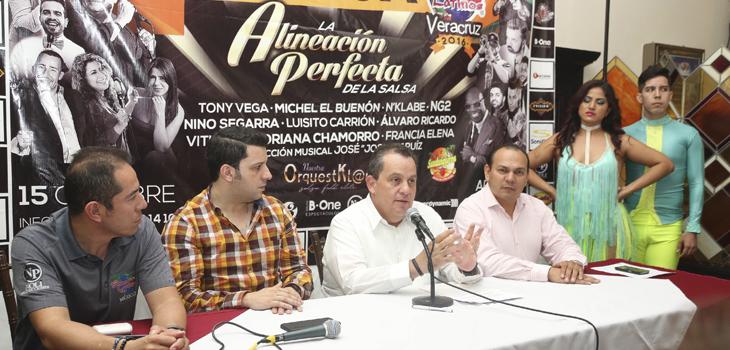 Vibrará Veracruz al ritmo de salsa con Festival Somos Latinos 2016