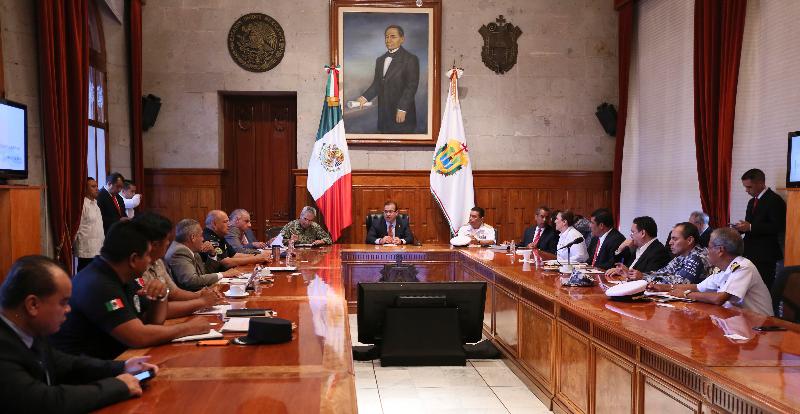 Analiza Grupo de Coordinación Veracruz estrategias de seguridad para Fiestas Patrias