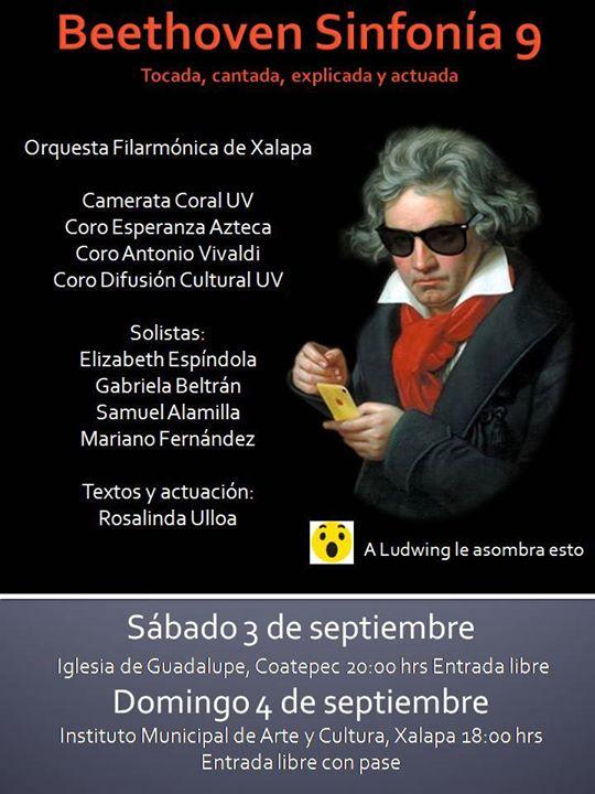 """Con """"La novena de Beethoven, tocada, cantada, explicada y actuada"""" concluirá el Festival de las Flores"""