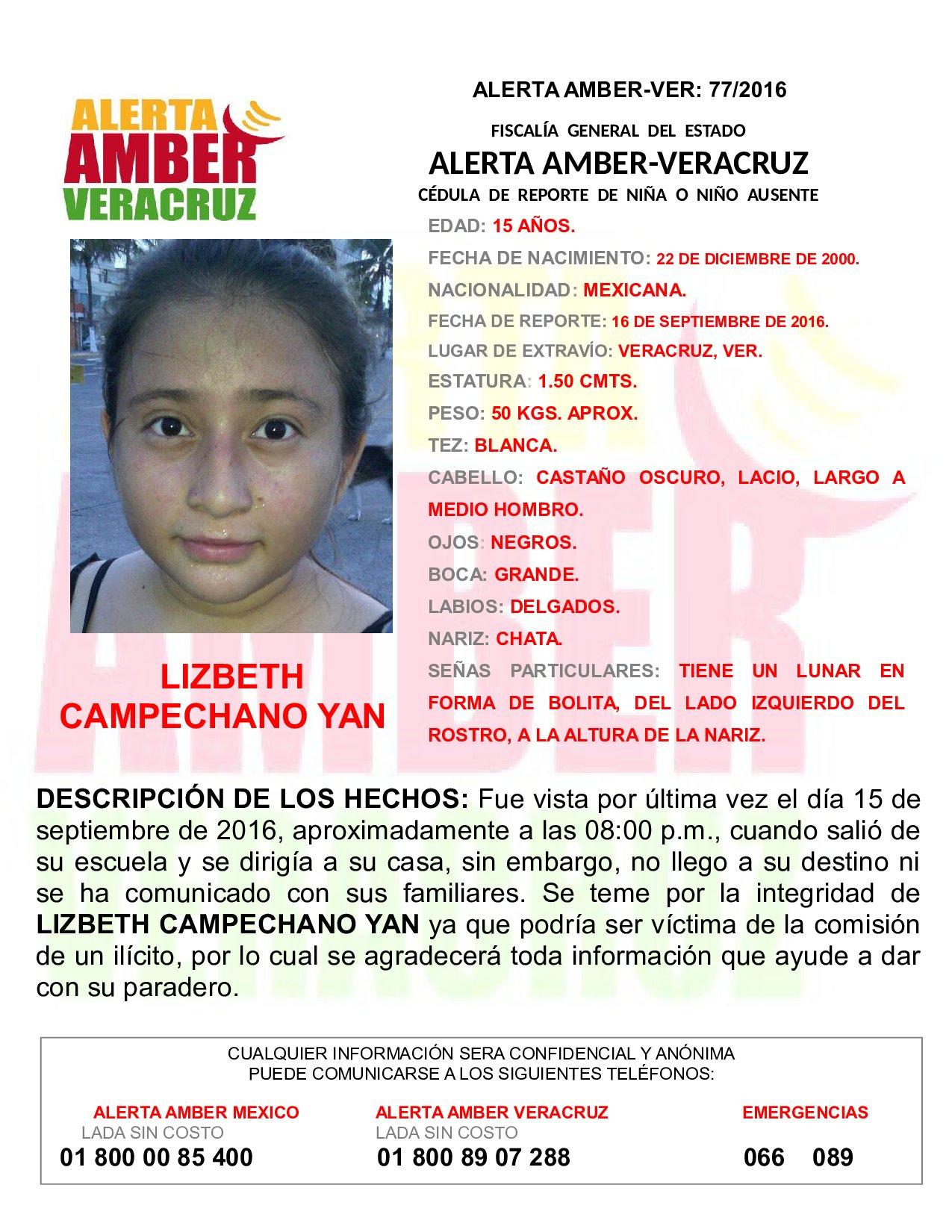 Menor reportada como desaparecida ya se comunicó con sus padres